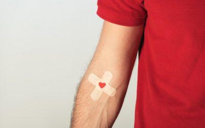 Campanha Junho Vermelho: Doe sangue, salve vidas.