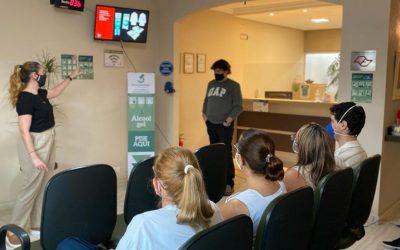 """Biocenter realiza palestra com tema """"novo posicionamento de imagem""""."""