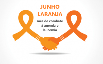 Junho Laranja: mês de combate à anemia e leucemia